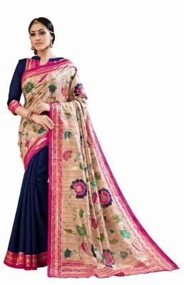 Katonline Printed Fashion Cotton Sari
