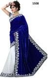 Palav Saree Embroidered Bollywood Velvet...