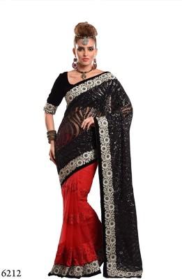 Parvati Fabrics Embriodered Bollywood Net Sari