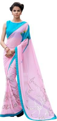 Rajesh Silk Mills Printed Fashion Pure Georgette Sari