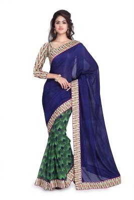 Kavyasarees Self Design Fashion Georgette Sari