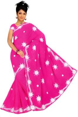 Sonakshi Creation Self Design Bollywood Chiffon Sari