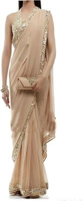 vandvshop Self Design Fashion Georgette Sari