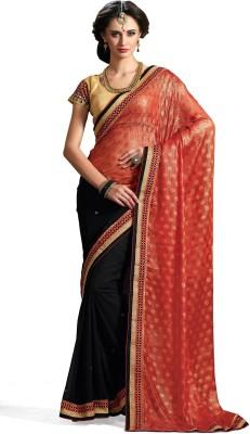 Rajshri Fashions Woven Fashion Georgette Sari