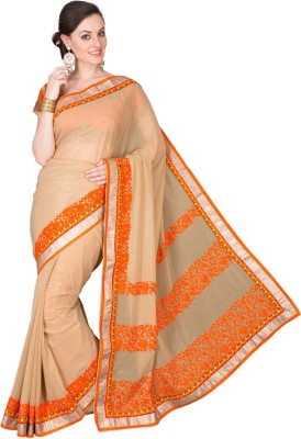 Deepika Couture Self Design Fashion Chiffon Sari
