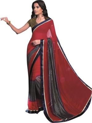 Laxmipati Printed Bollywood Handloom Pure Georgette Sari