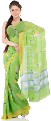 Chhabra 555 Printed Fashion Georgette Sari