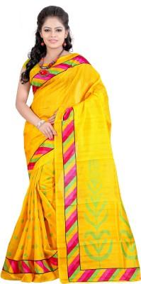 Fashionoma Printed Bhagalpuri Cotton Sari
