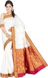 Indian Silks Self Design Kanjivaram Hand...