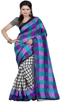 Ridhhi Handwork Printed Bhagalpuri Cotton Sari