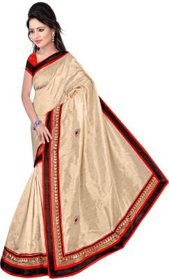 DIVINEFASHIONSTUDIO Self Design Fashion Silk Sari