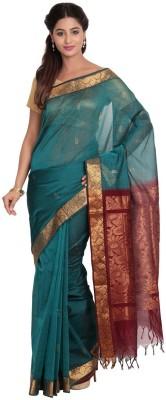 Pratami Floral Print Fashion Cotton Sari