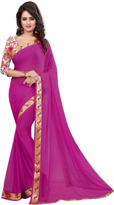 Pehnava Self Design Bollywood Nylon Sari