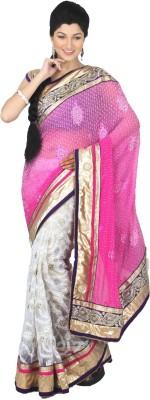 MJC Self Design Fashion Viscose Sari