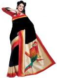Saran Fashion Art Silk Saree (Multicolor...