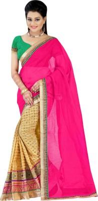 Fabviva Embriodered Bollywood Cotton Sari