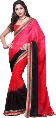 Cloovy Printed Fashion Georgette Sari