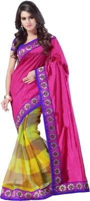 Weavedeal Embellished, Self Design Banarasi Banarasi Silk Sari