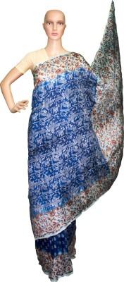 Prateeti Floral Print Daily Wear Handloom Pure Silk Sari