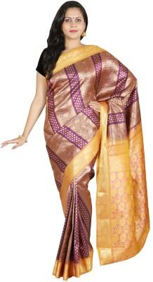 Sri Radha Krishna Textiles Printed Kanjivaram Silk Sari