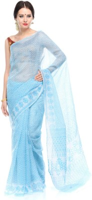 Antrapali Printed Gadwal Cotton Sari