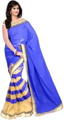 Dhanu Fashion Embriodered Bollywood Georgette Sari