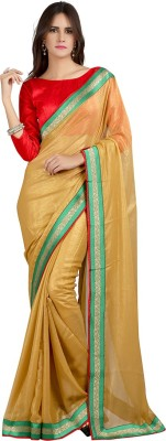 Velli Embellished Fashion Georgette Sari