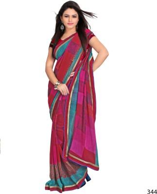 Ghanumanandco Printed Daily Wear Georgette Sari