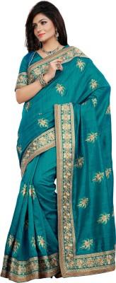 Prafful Embriodered Bhagalpuri Silk Sari