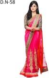 MA Embriodered Bollywood Net Sari