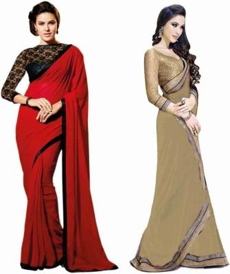 Stylezone Self Design Fashion Chiffon Sari