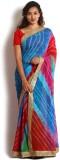 Kasturi-B Swadeshi Karigari Striped Lehe...