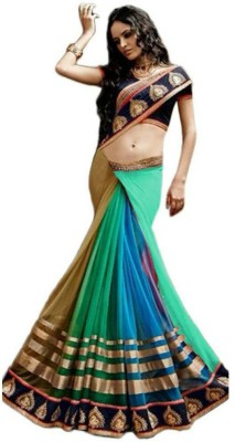 Kanha Fashionna Embriodered Bollywood Georgette Sari