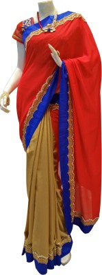 MAMTA BOUTIQUE Self Design Bollywood Georgette Sari