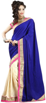 Suhagan Sarees Self Design Fashion Georgette Sari