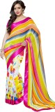 Shoponbit Printed Bollywood Georgette Sa...