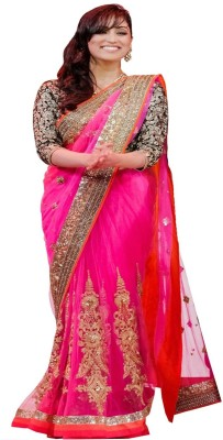Nhp Fashion Self Design Bollywood Net Sari