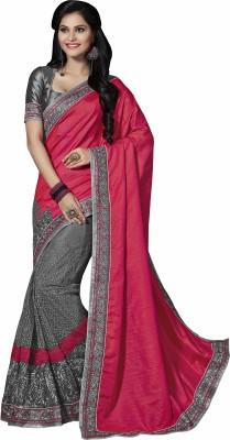 Sonal Saree Embriodered Bollywood Silk Sari