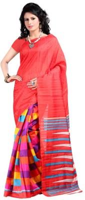 SareeBazaar Printed Bhagalpuri Cotton Sari