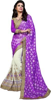 Chaand Embriodered Fashion Pure Georgette Sari
