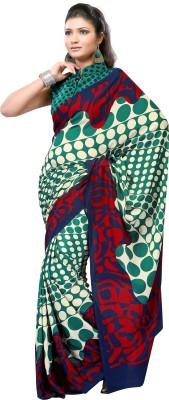 Prafful Printed Fashion Crepe Sari