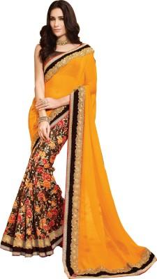 Shop Avenue Embellished Fashion Chiffon, Georgette Sari