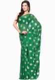 Soundarya Printed Daily Wear Chiffon Sar...