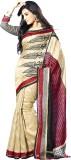 Bhavi Printed Fashion Art Silk Saree (Mu...