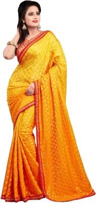 Imago Self Design Fashion Lace, Silk Sari