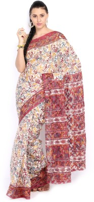 Anouk Printed Fashion Handloom Synthetic Sari