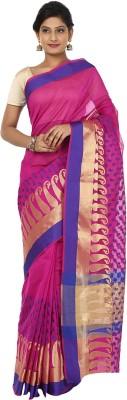 Sevensquare Paisley Banarasi Organza Sari