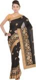 Kdc Sarees Embroidered Banarasi Tussar S...