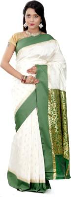 B3Fashion Woven Garad Handloom Silk Sari