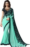 Shoponbit Embroidered Bollywood Pure Geo...